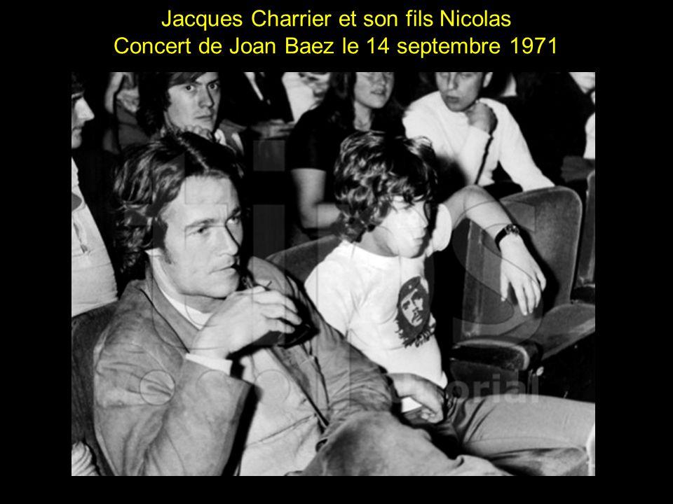 Jacques Charrier et son fils Nicolas
