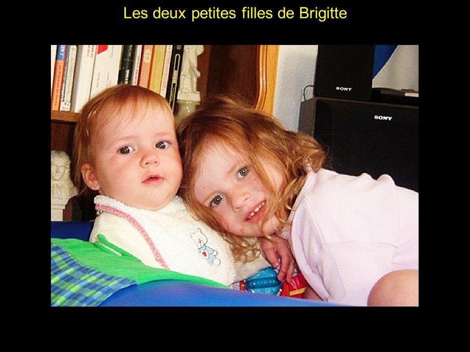 Les deux petites filles de Brigitte