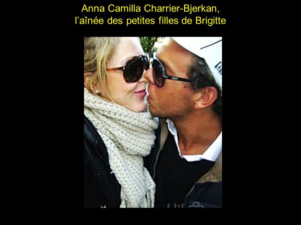 Anna Camilla Charrier-Bjerkan, l'aînée des petites filles de Brigitte
