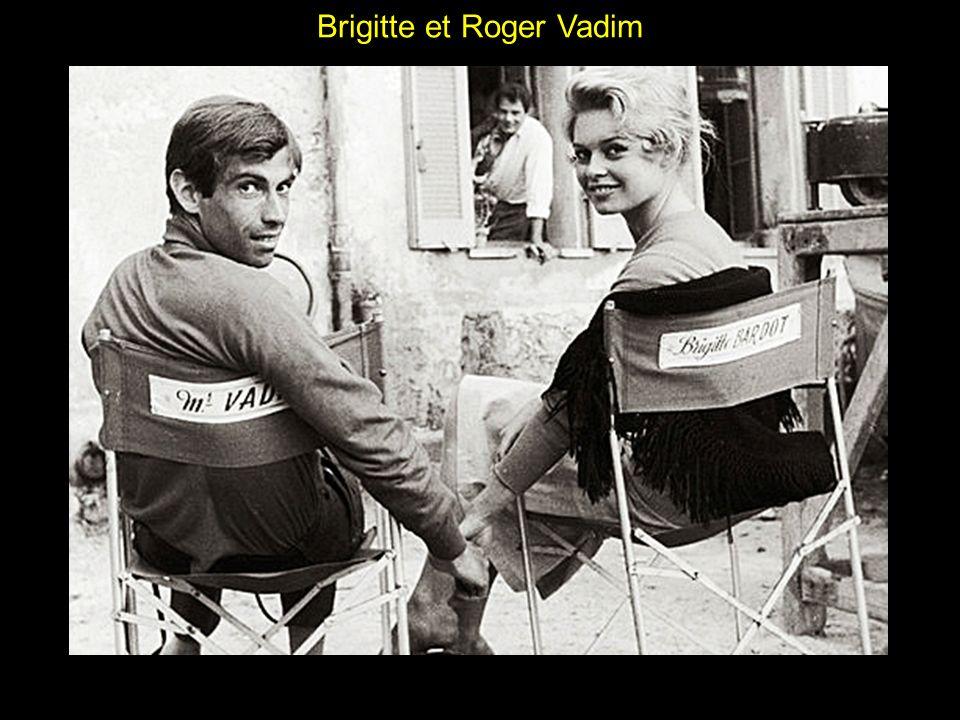 Brigitte et Roger Vadim