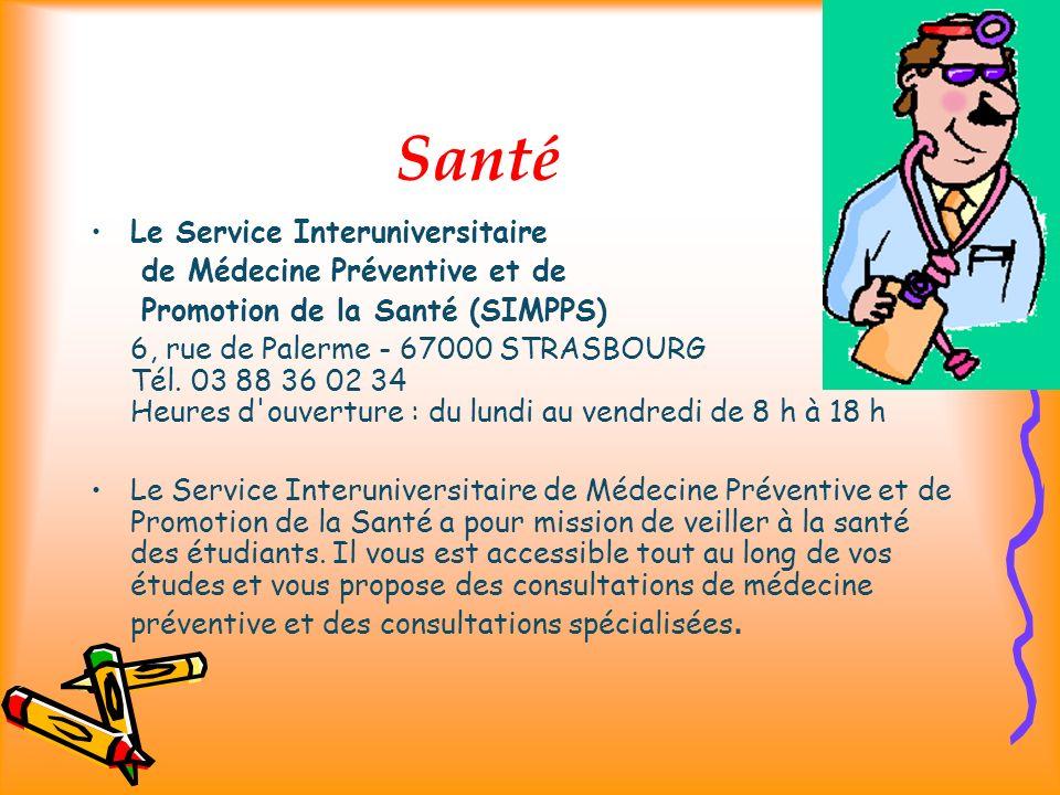 Santé Le Service Interuniversitaire de Médecine Préventive et de