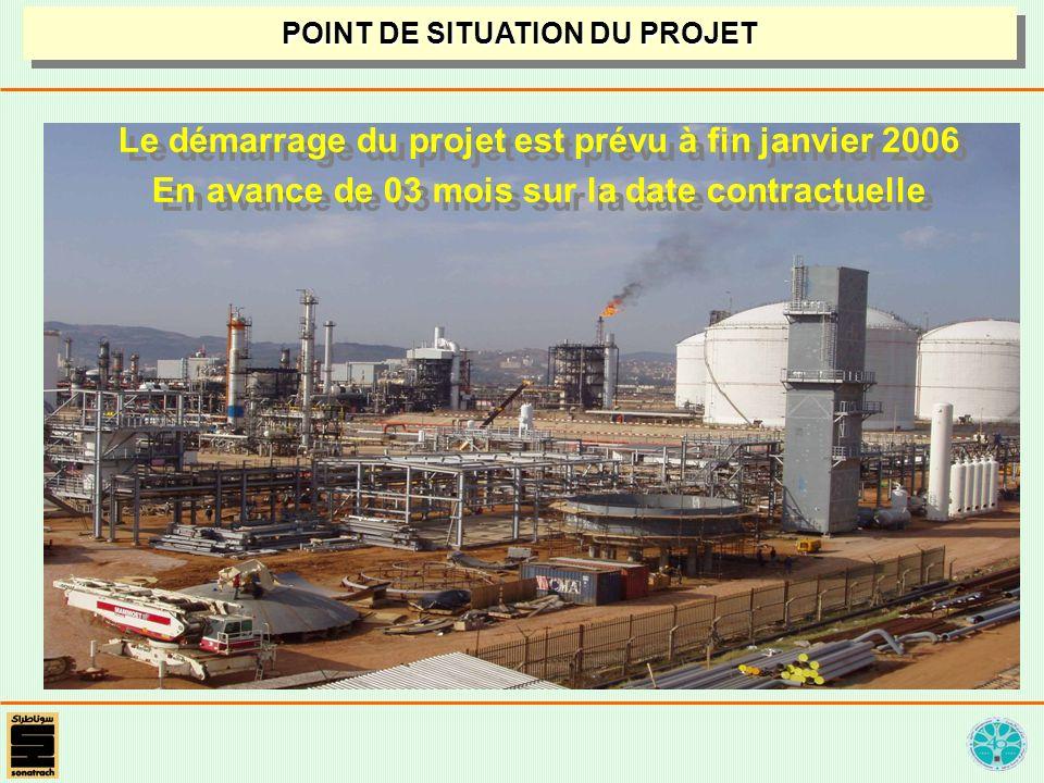 Le démarrage du projet est prévu à fin janvier 2006