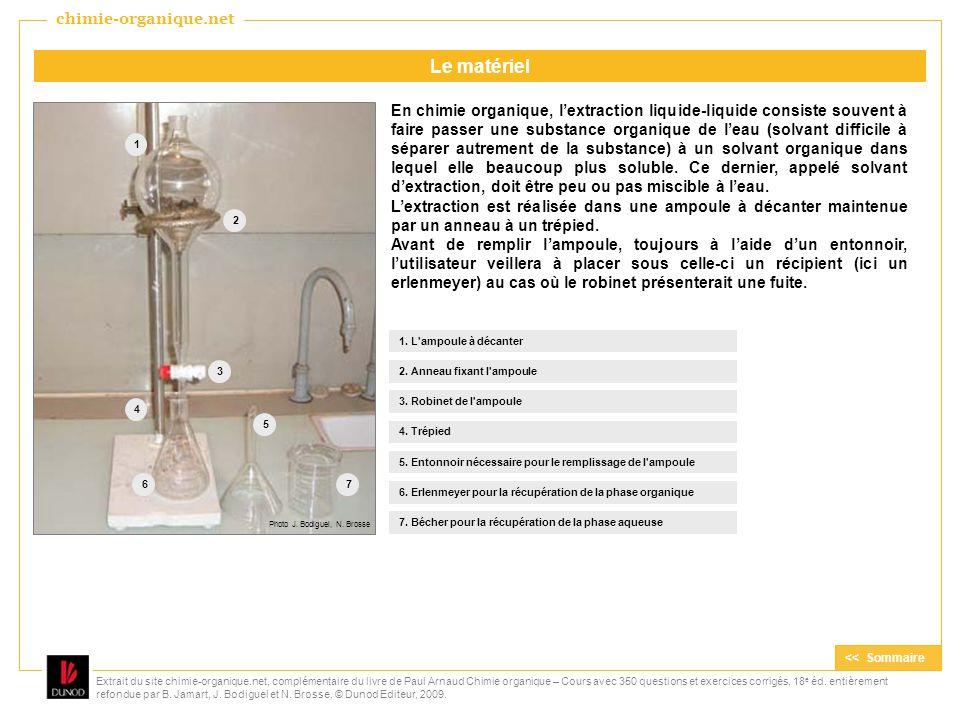 Le matériel chimie-organique.net