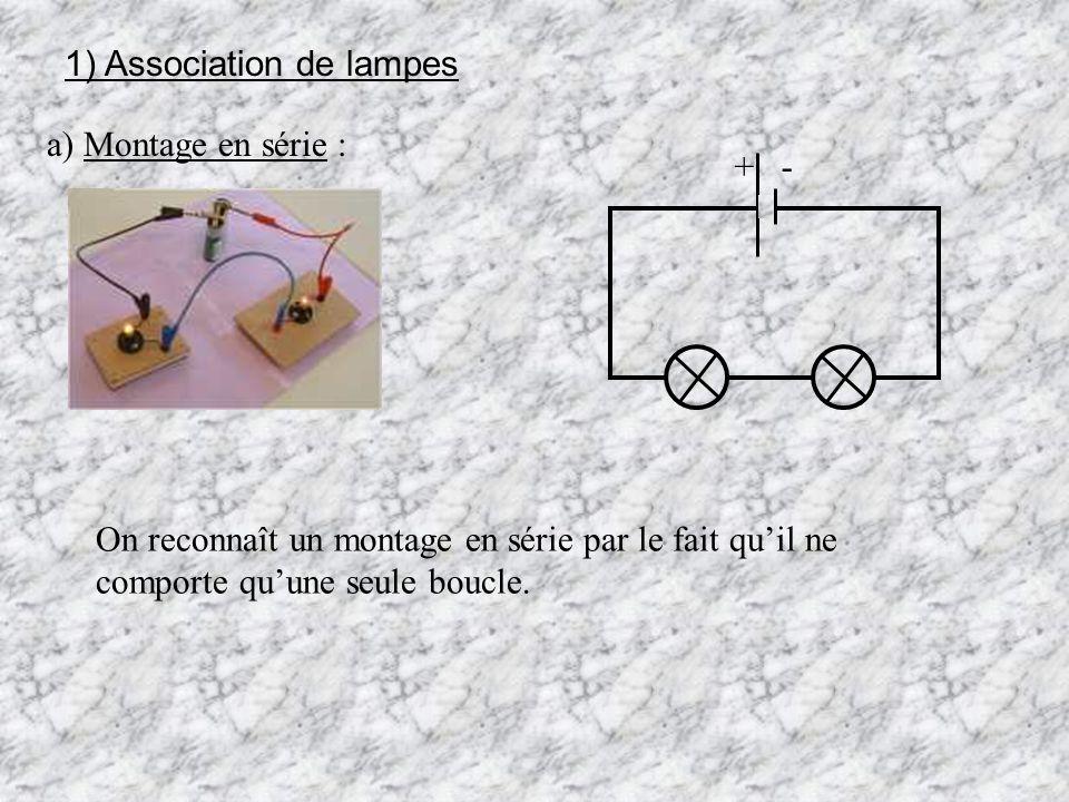 1) Association de lampes