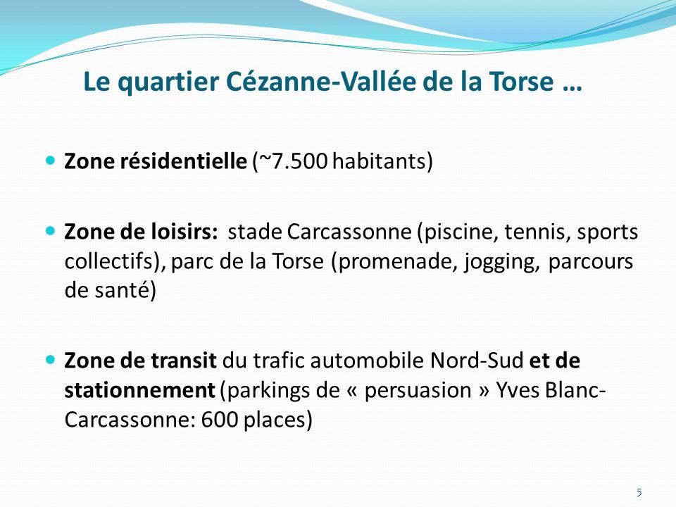 Le quartier Cézanne-Vallée de la Torse …