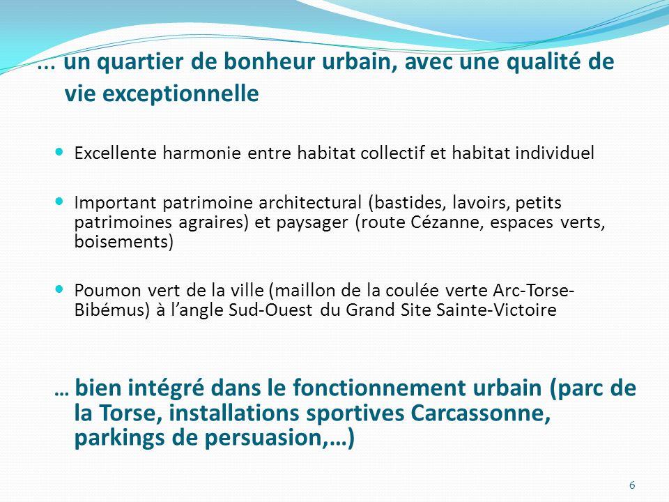 … un quartier de bonheur urbain, avec une qualité de vie exceptionnelle