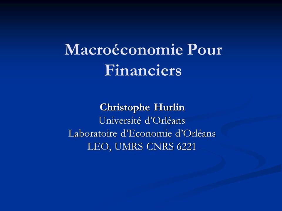 Macroéconomie Pour Financiers