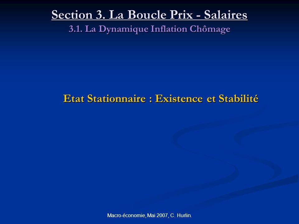 Section 3. La Boucle Prix - Salaires 3. 1