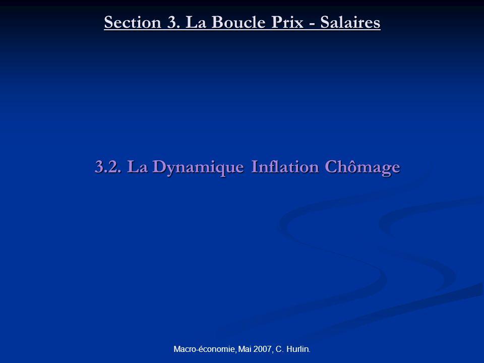 Section 3. La Boucle Prix - Salaires