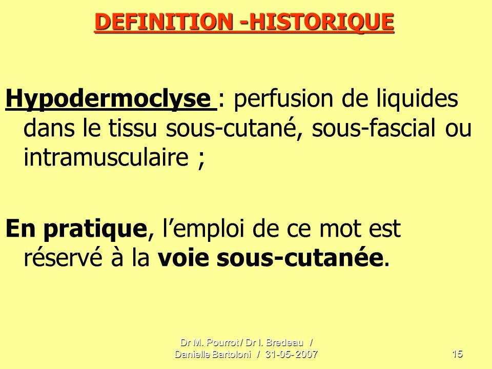 DEFINITION -HISTORIQUE