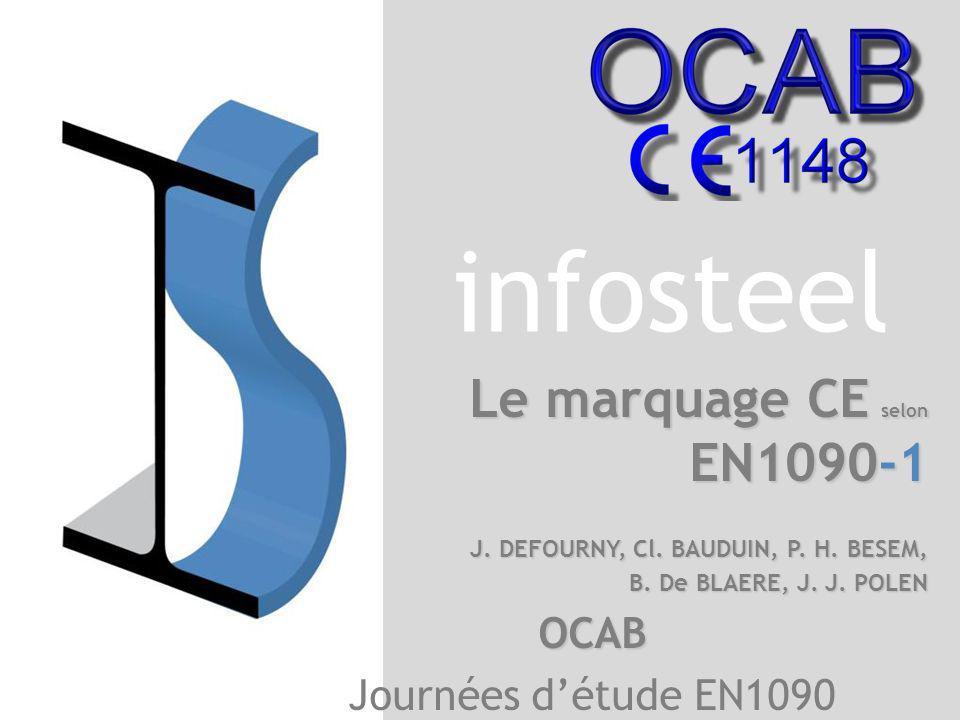 Le marquage CE selon EN1090-1