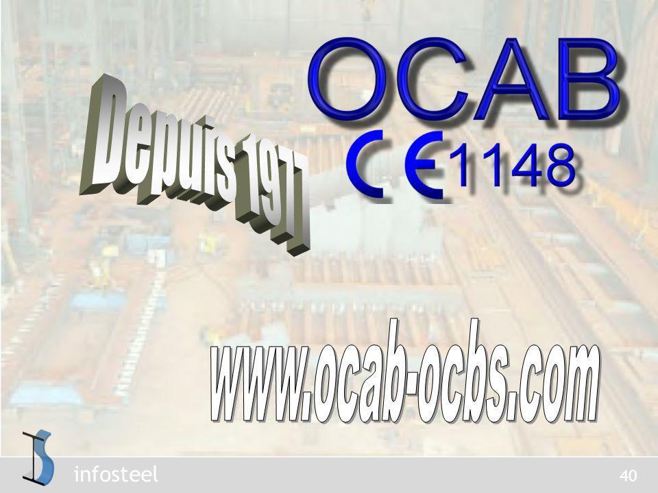 Depuis 1977 www.ocab-ocbs.com