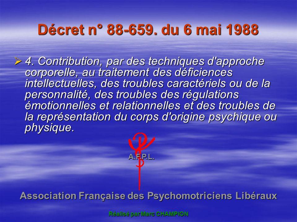 Décret n° 88-659. du 6 mai 1988