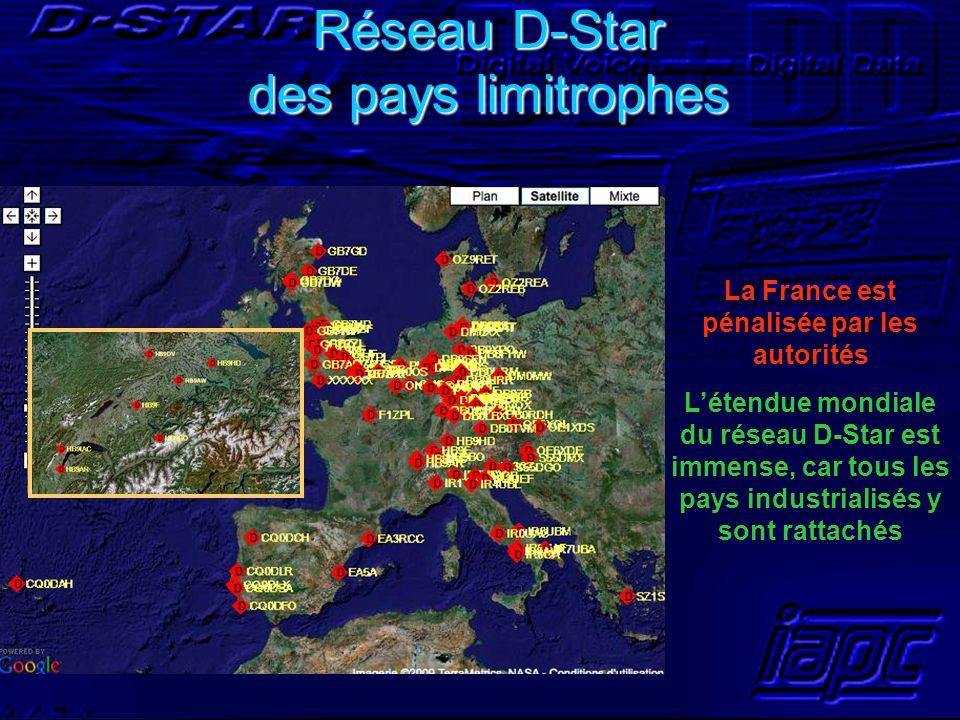 Réseau D-Star des pays limitrophes