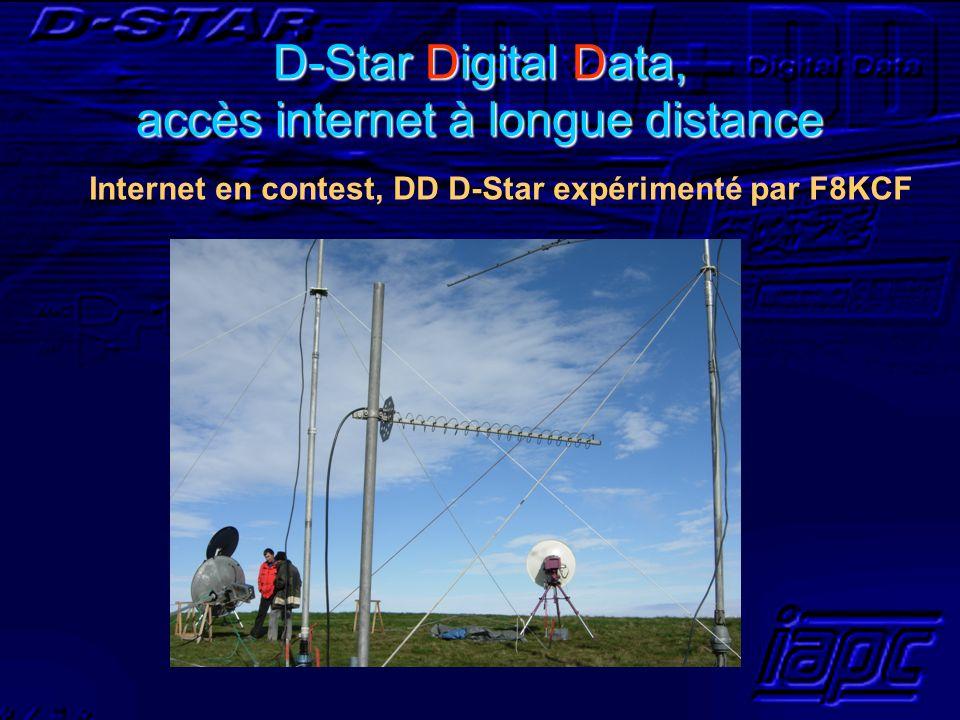 D-Star Digital Data, accès internet à longue distance