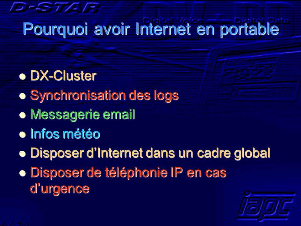 Pourquoi avoir Internet en portable