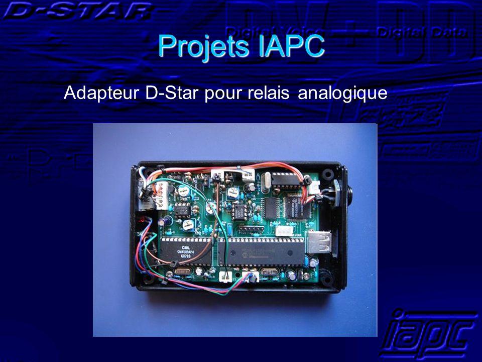Projets IAPC Adapteur D-Star pour relais analogique