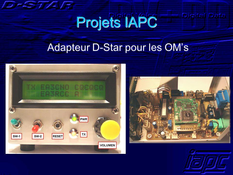 Projets IAPC Adapteur D-Star pour les OM's