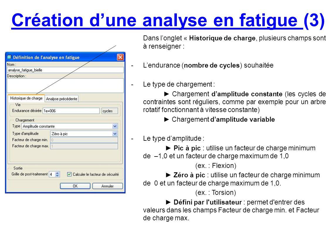 Création d'une analyse en fatigue (3)