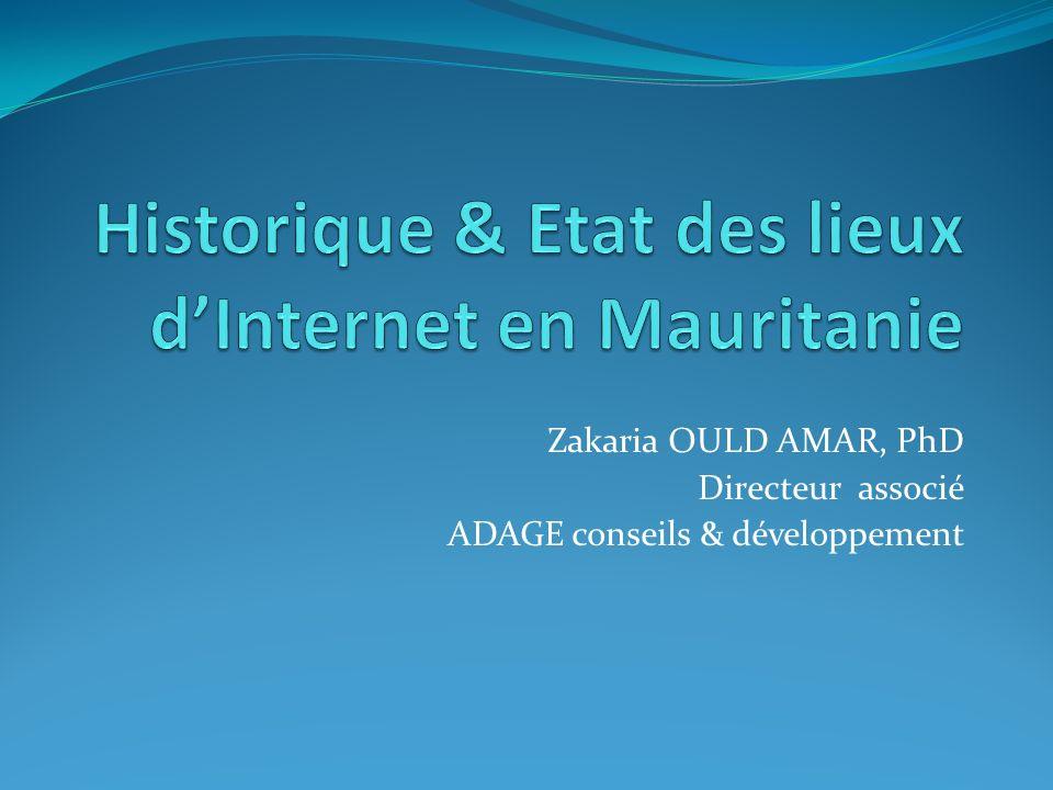 Historique & Etat des lieux d'Internet en Mauritanie