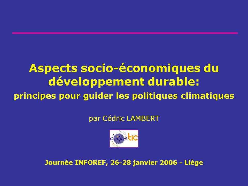 Journée INFOREF, 26-28 janvier 2006 - Liège