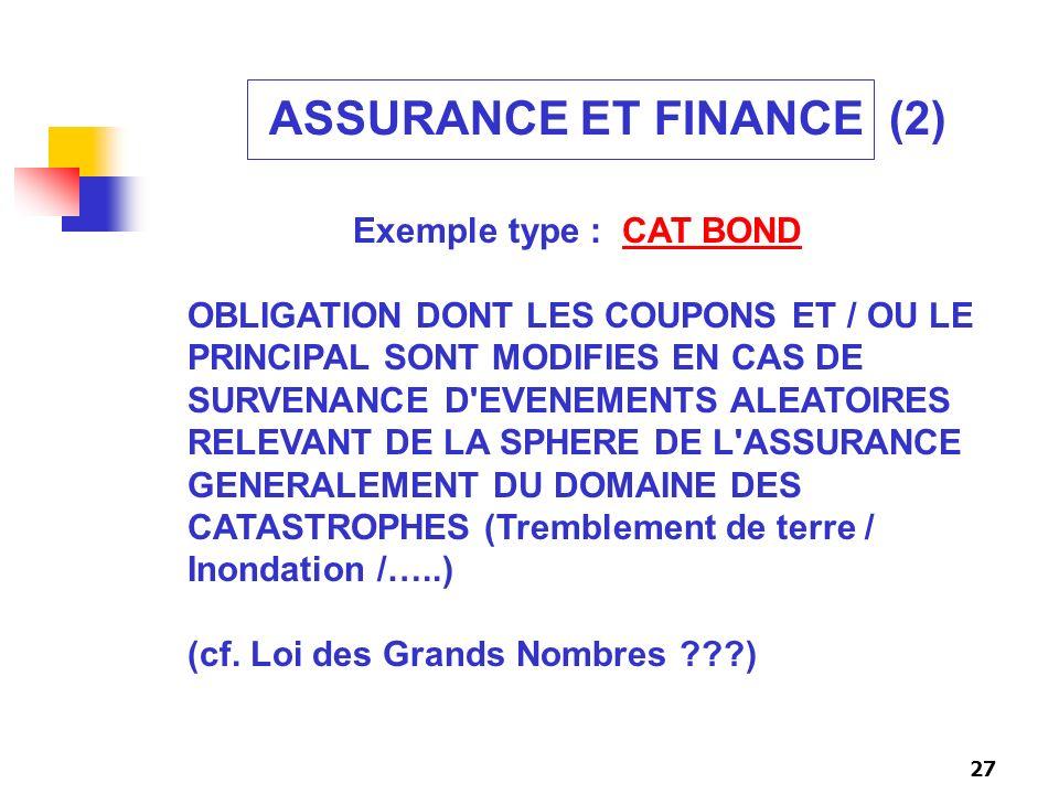 ASSURANCE ET FINANCE (2)