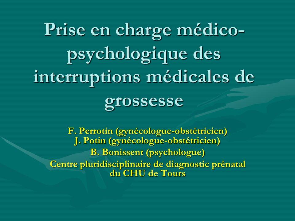 Prise en charge médico-psychologique des interruptions médicales de grossesse