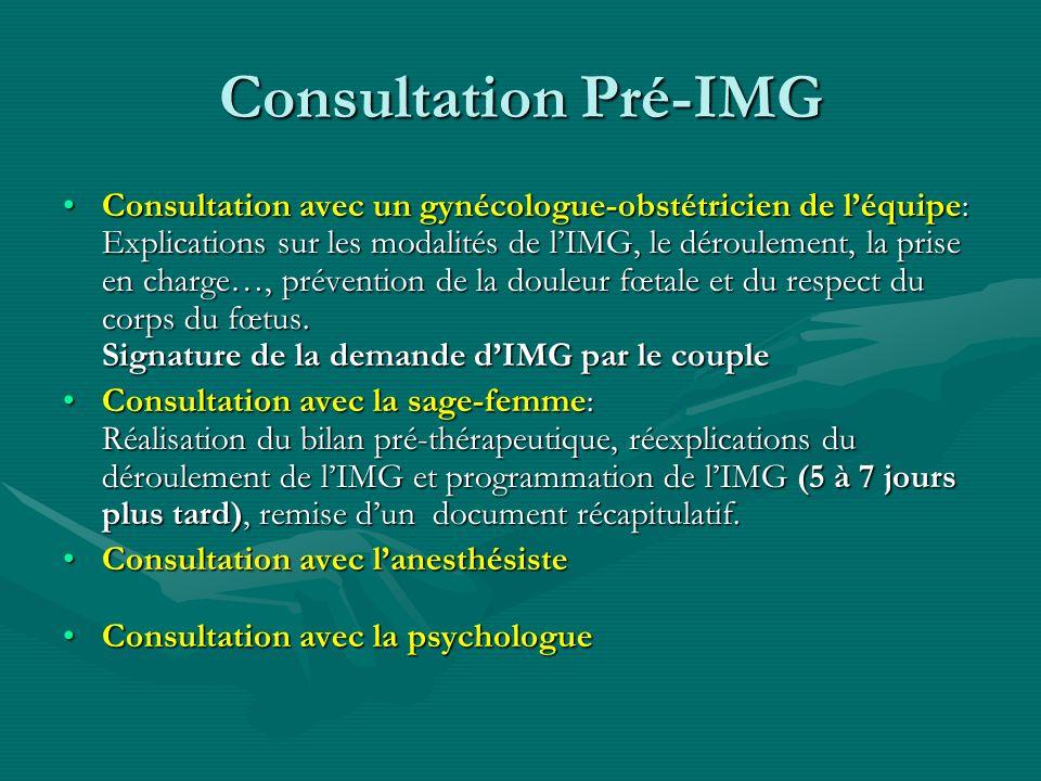 Consultation Pré-IMG