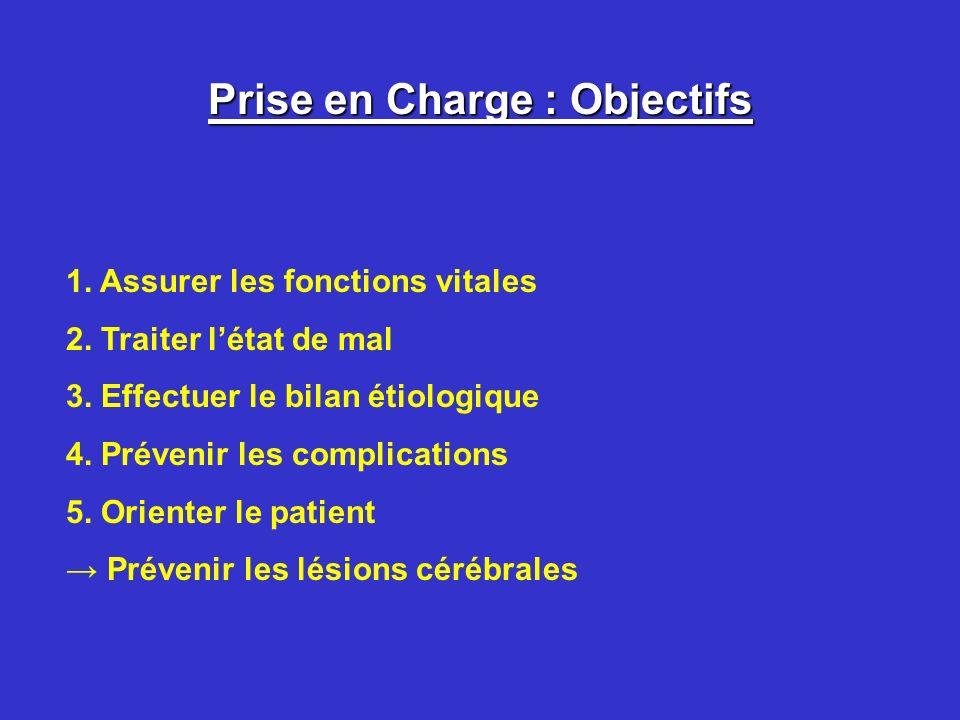 Prise en Charge : Objectifs