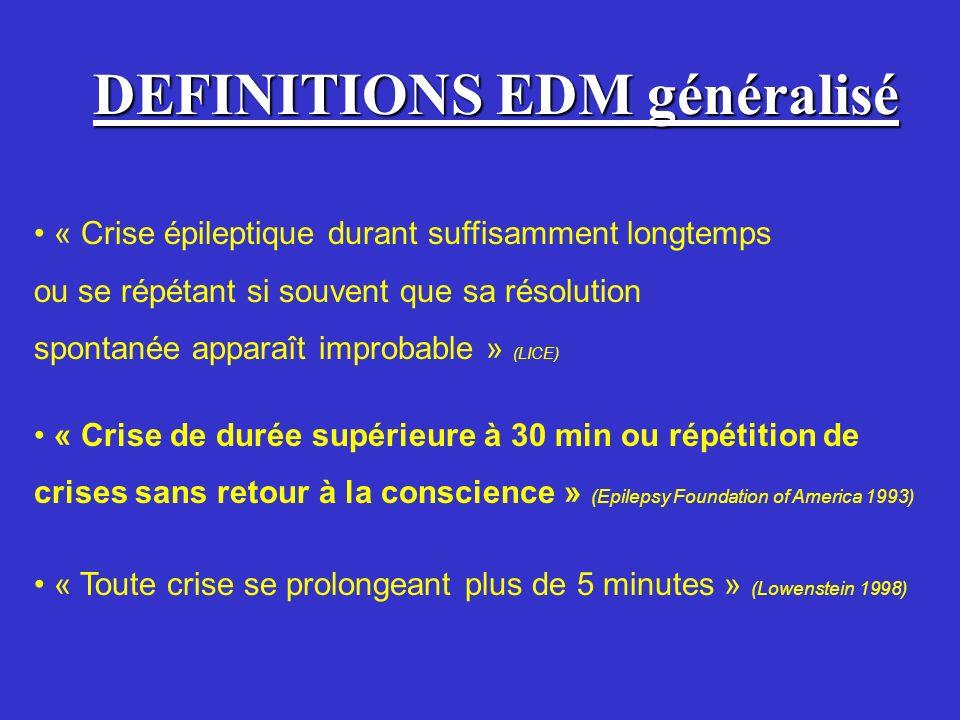 DEFINITIONS EDM généralisé
