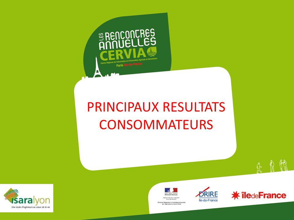 PRINCIPAUX RESULTATS CONSOMMATEURS 5