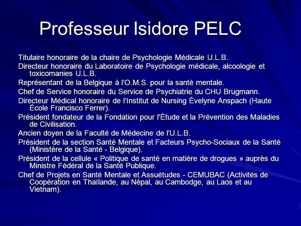 Professeur Isidore PELC