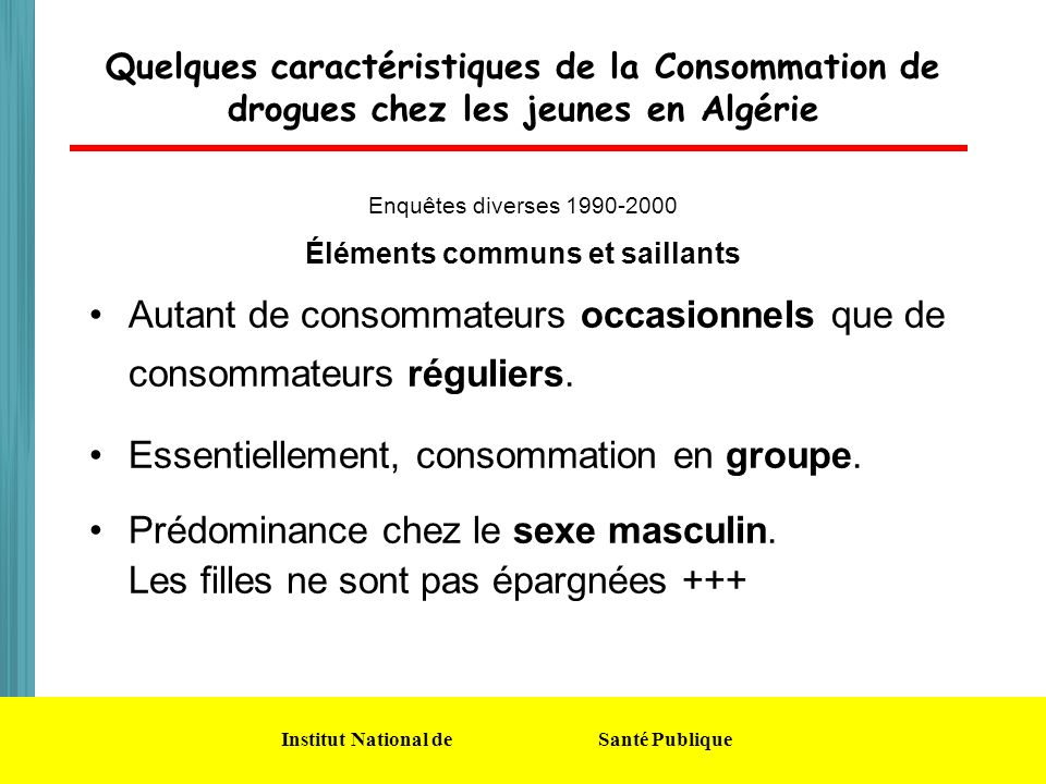 Éléments communs et saillants