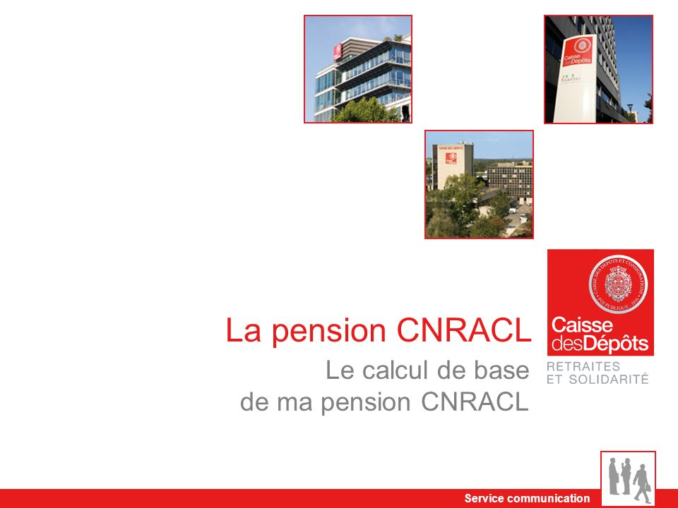 Le calcul de base de ma pension CNRACL