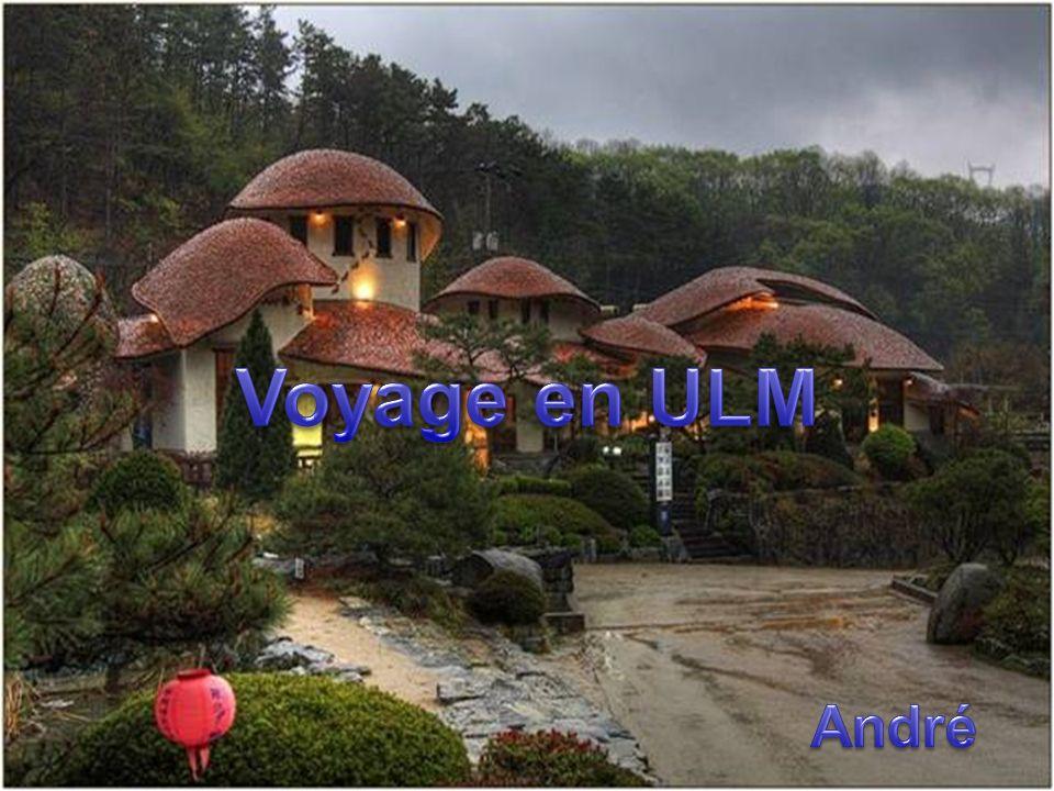 Voyage en ULM André