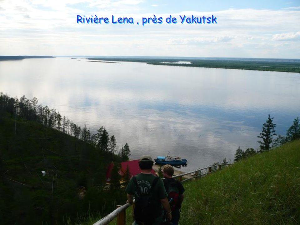 Rivière Lena , près de Yakutsk