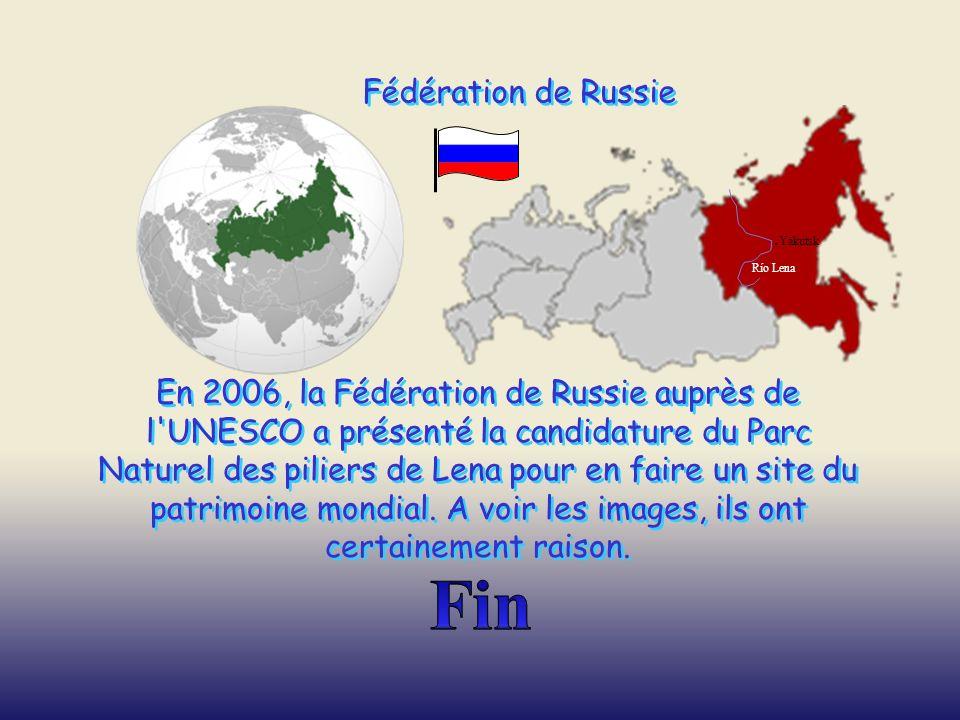 Fin Fédération de Russie