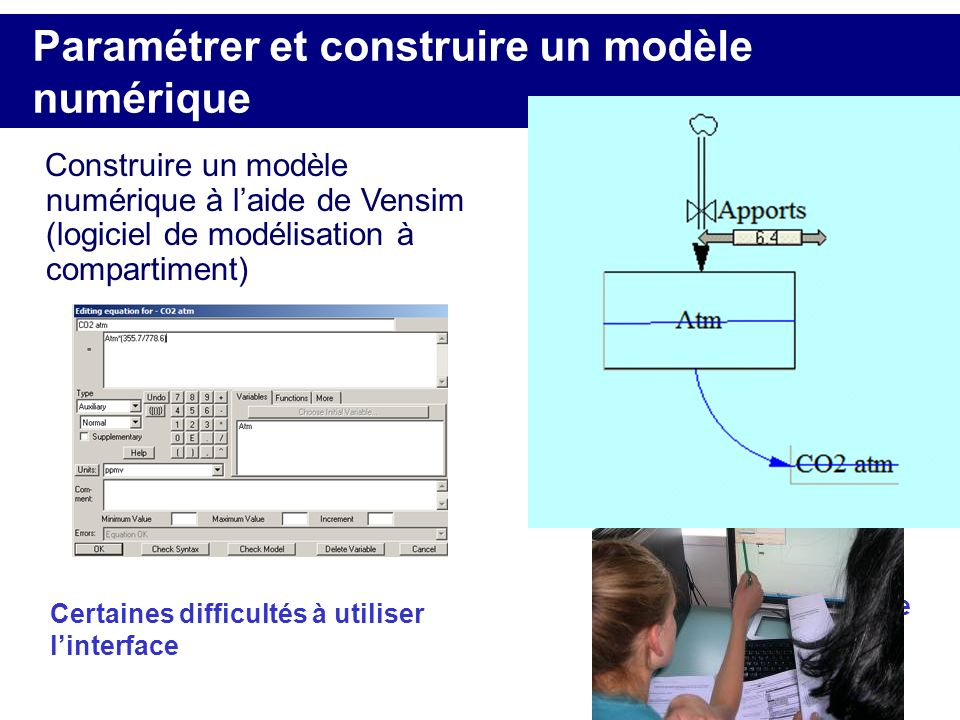 Paramétrer et construire un modèle numérique