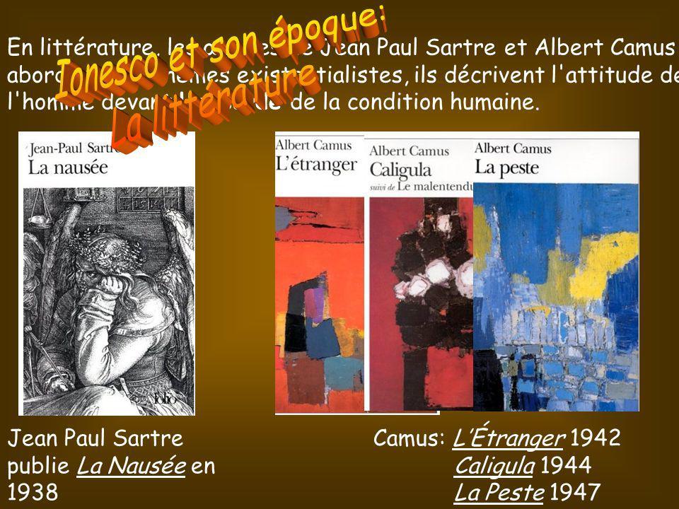 Ionesco et son époque: La littérature
