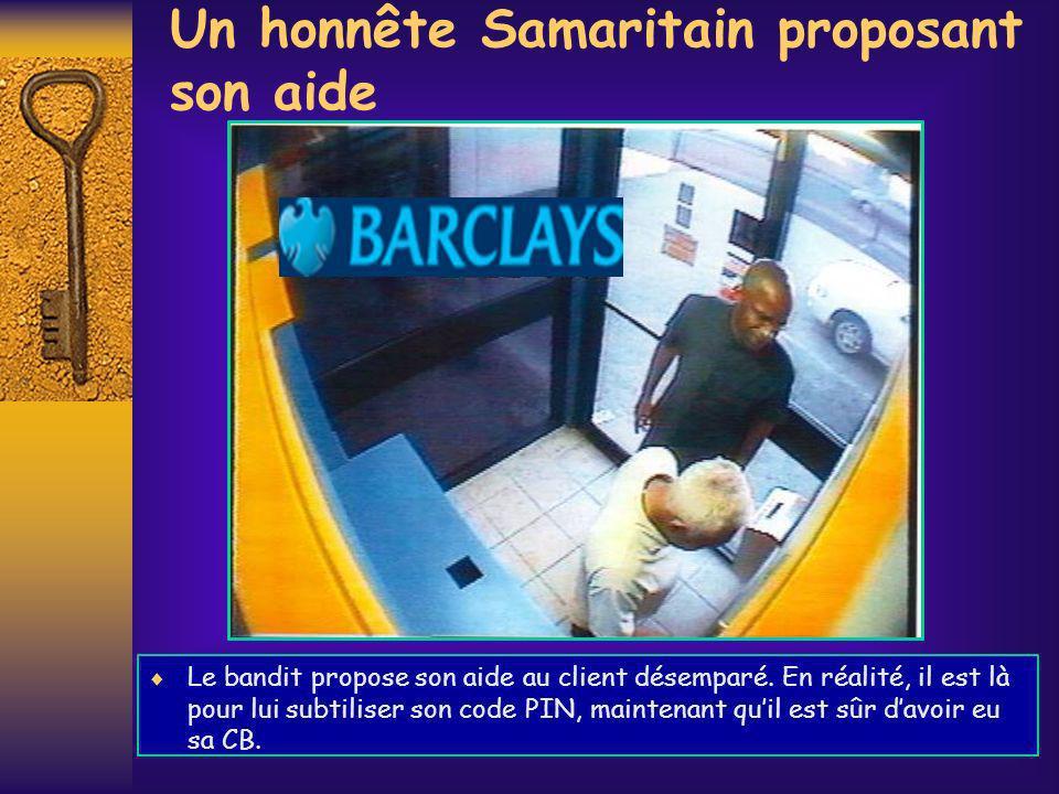 Un honnête Samaritain proposant son aide