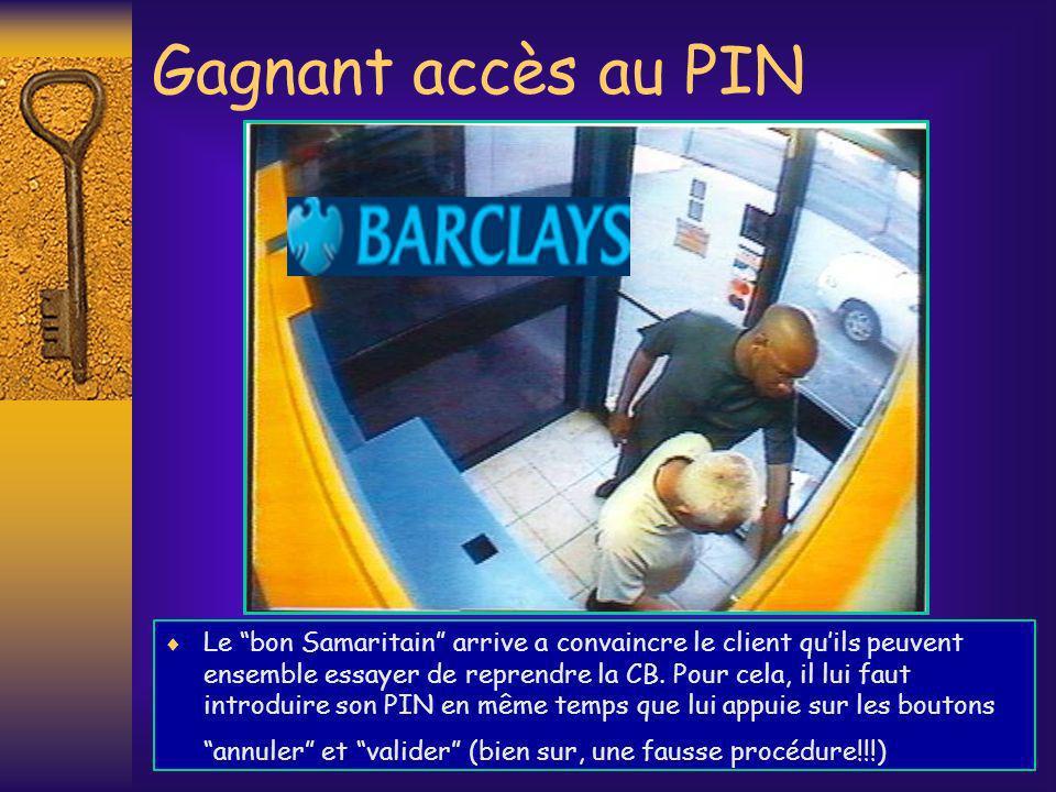 Gagnant accès au PIN