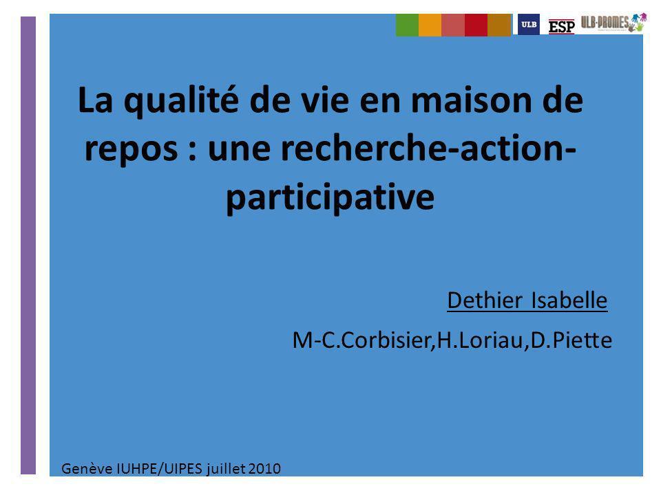 Dethier Isabelle M-C.Corbisier,H.Loriau,D.Piette