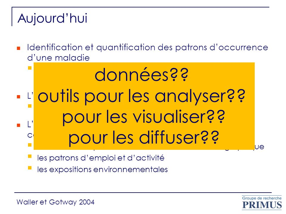 outils pour les analyser