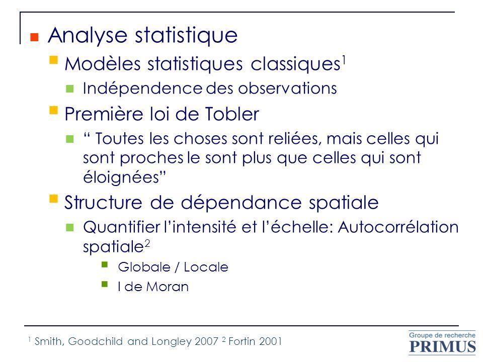 Analyse statistique Modèles statistiques classiques1