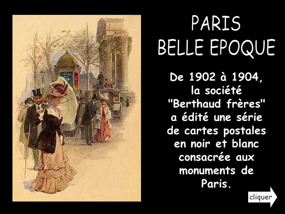 PARIS BELLE EPOQUE.