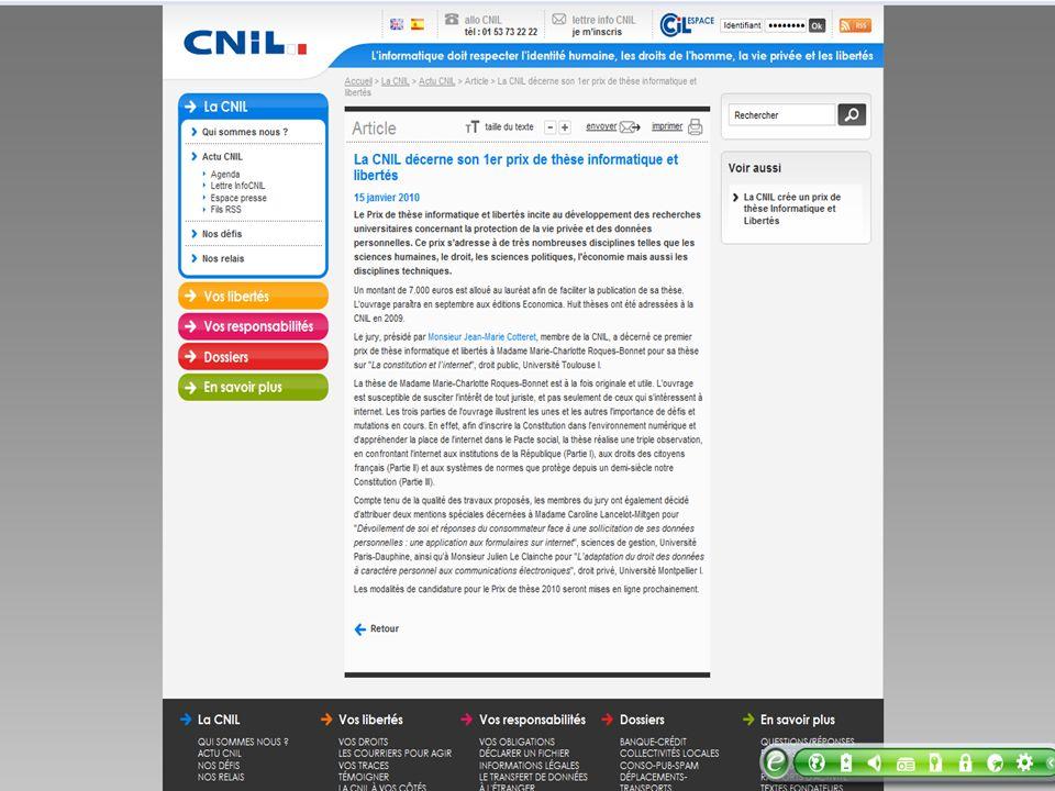 Prix de la CNIL