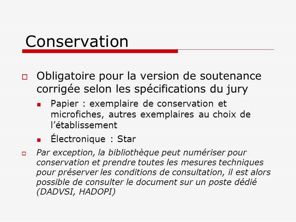 Conservation Obligatoire pour la version de soutenance corrigée selon les spécifications du jury.