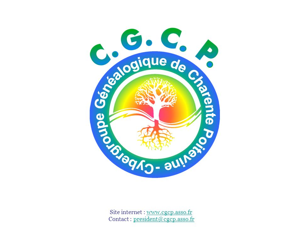 Site internet : www.cgcp.asso.fr Contact : president@cgcp.asso.fr