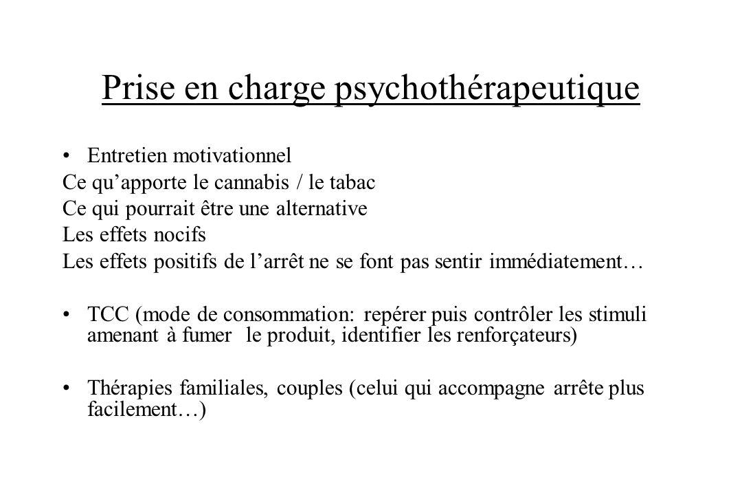 Prise en charge psychothérapeutique