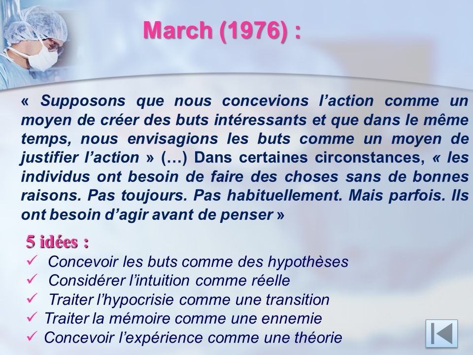 March (1976) :